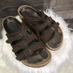Birkenstock 3 Strap Florida Leather Strappy Sandal